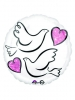 17C Wedding Doves S40